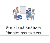 Visual and Auditory Phonics Assessment- Version A (Try for Free!)