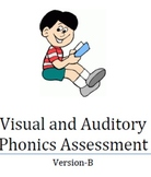 Visual and Auditory Phonics Assessment- Version B