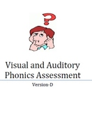 Visual and Auditory Phonics Assessment- Version D