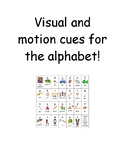 Visual and Motion Cues for Letter sounds
