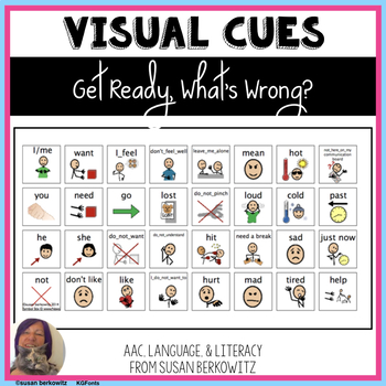 Visual cues: get ready, tell what's wrong _ autism _other special education