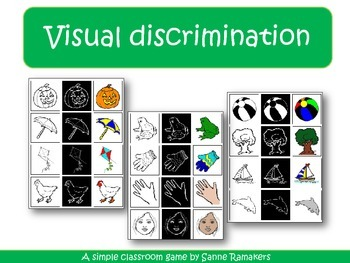 Visual discrimination game