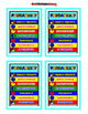 Visual for Probability = Poster/Anchor Chart with Cards for Students