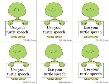 Visual for Turtle Speech