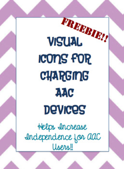 Visual icons for charging AAC devices