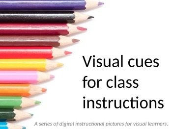 FREE Visual instructional prompts for PowerPoint, PDF, handouts