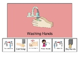 Visual schedule (Picture supports) for Washing Hands