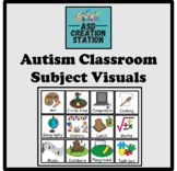 Autism Visual schedules:  38 visuals