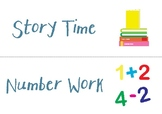 Visual timetables for P4 -P7