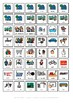 Visual weekly planning chart home & school inc. 70+ symbol cards