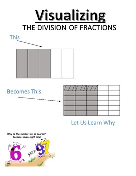 Visualing the Division of Fractions Instructional Handout