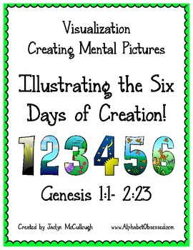 Visualization Activity for the 6 Days of Creation in the Bible