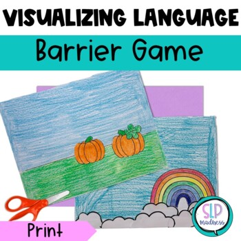Visualization-Language Comprehension & Description Barrier Game