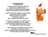 Visualization with Christmas Dog