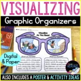 Visualizing Reading Strategy Poster, Paper & Digital Graphic Organizers