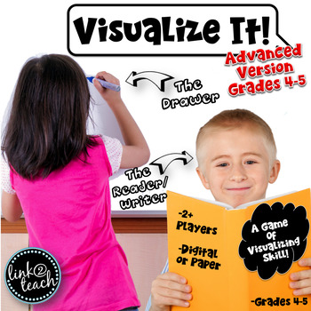 Visualize It! Game Common Core Aligned Writing & Reading S