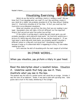 Visualize It:  Resources for Teaching Visualization Through Art and Poetry