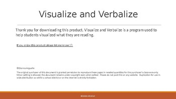 Visualize and Verbalize PPT