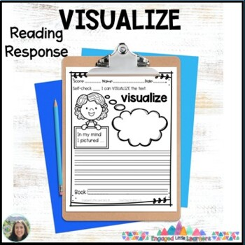 Visualize the Text Reading Response Graphic Organizer for Comprehension