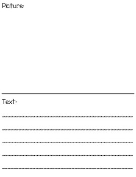 Visualize the Text - poster and worksheet