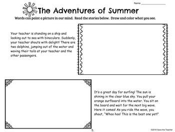 Visualizing Activities: Summer Fun!