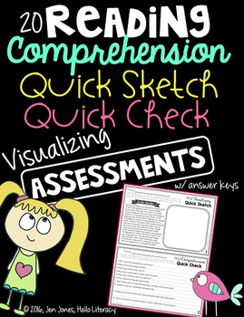 Visualizing Assessments: Comprehension Quick Sketch Quick Checks