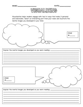 Visualizing Graphic organizer