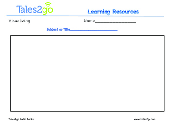 Visualizing- Great For Listening To Reading