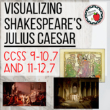 Visualizing Julius Caesar (4 images, 30 questions, 12 page