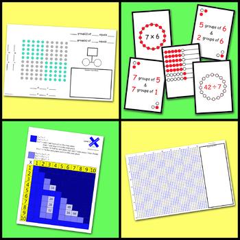 Visualizing Multiplication & Division Bundle