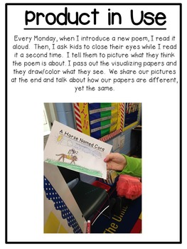 First Grade Reading: Visualizing Poetry