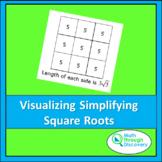 Visualizing Simplifying Radical Expression