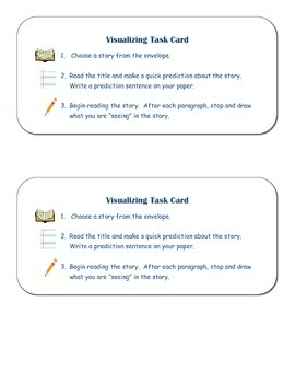 Visualizing Task Cards and Recording Sheet