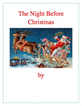 Visualizing The Night Before Christmas