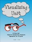 Visualizing Unit, aligned to common core standards, grades 3-5