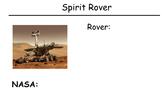 Visualizing Verbalizing - Spirit Rover Unit - Comprehensio