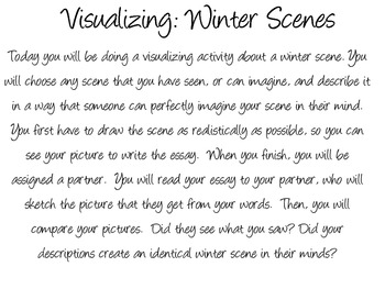 Visualizing Winter Scenes