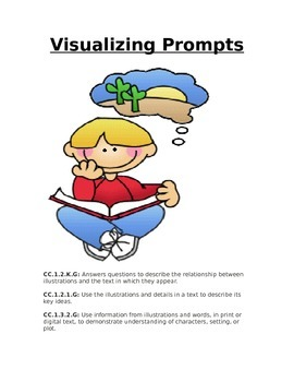 Visualizing Writing Prompts