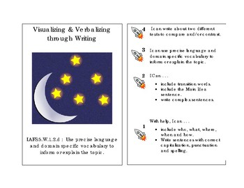 Visualizing and Verbalizing through Writing