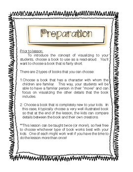 Visualizing for Comprehension Lesson Plan