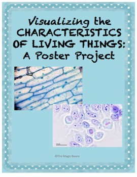 Visualizing the Characteristics of Living Things: A Poster Project