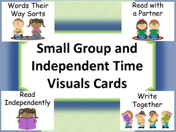 Visuals Cards for Small Group and Independent Reading