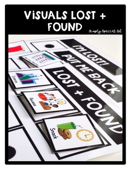 Visuals Lost and Found for Special Education