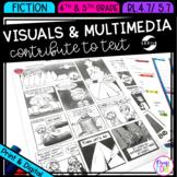 Visuals & Multimedia in Fiction - RL.4.7 / RL.5.7 - Digital & Printable