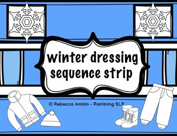 Visuals: Winter Dressing Sequence Strip