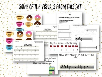 Visuals and Activities for the Bass Clef Staff