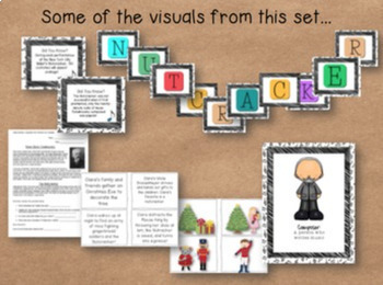 Nutcracker Music Activities: Visuals and Activities for the Music Room