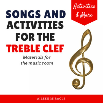 Visuals and Activities for the Treble Clef Staff