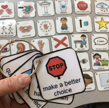 Visuals and Positive Behavior Supports for Autism and Special Education