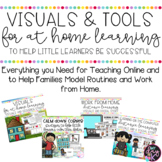 Visuals and Tools for Distance Learning